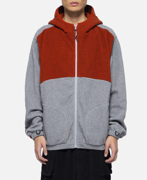 Final Frontier Hooded Zip Through (Grey)