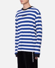 Parade Waffle Knit Long Sleeve Shirt (Blue)