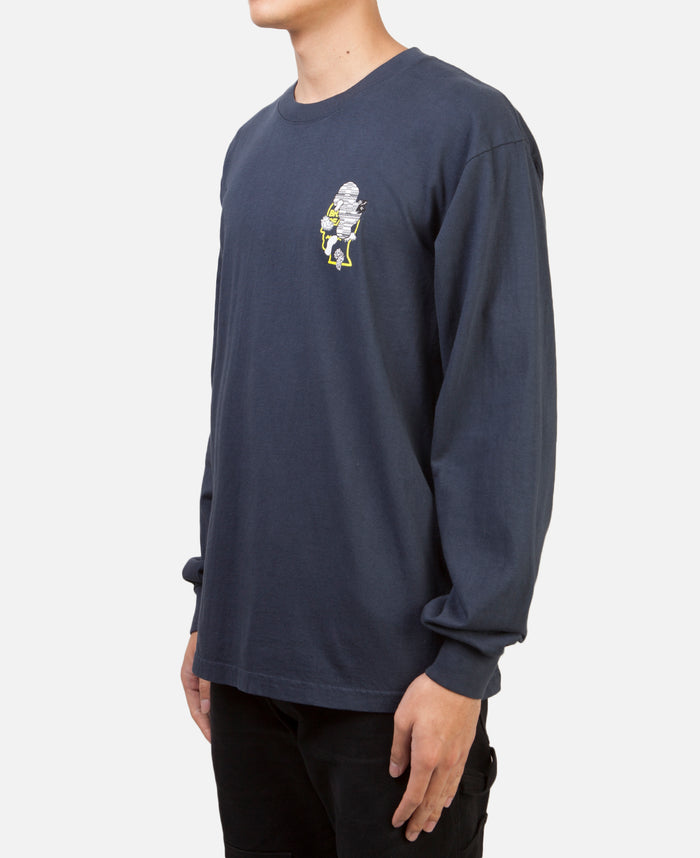 Imaging L/S T-Shirt Navy
