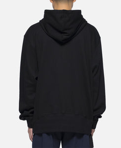 B.T.C. Logo Hooded Sweat (Black)