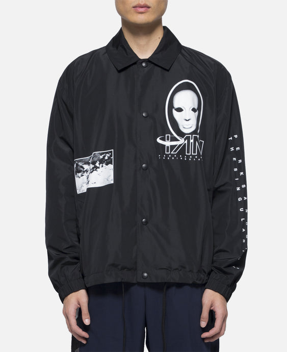 Waveform Mask Coach Jacket (Black)