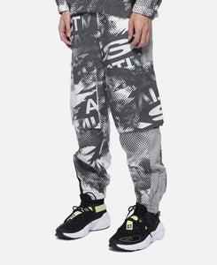 B.T.C. Printed Space In Space Shell Pant (Grey)