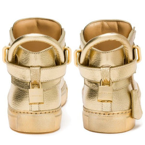 SHOE 100MM METALLIC (GOLD)