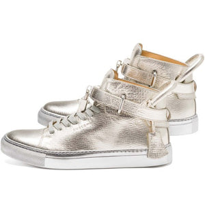 SHOE 100MM METALLIC (SILVER)