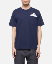 Printed Pocket T-Shirt (Navy)