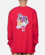 Flocking L/S T-Shirt (Red)