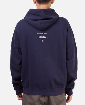 PATCH ZIP UP HOODIE