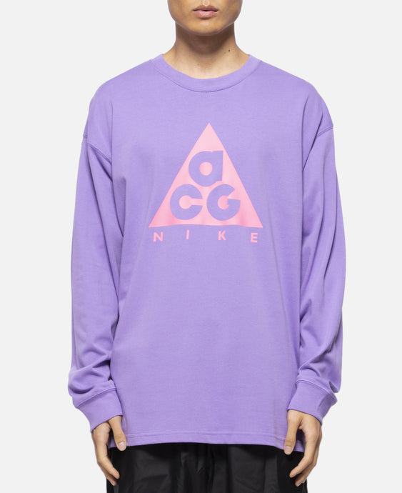 ACG L/S Logo T-Shirt  (Purple)