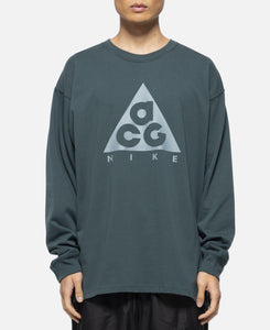 ACG L/S Logo T-Shirt  (Grey)