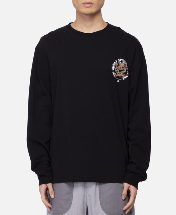 Spiritual Dragon L/S T-Shirt (Black)