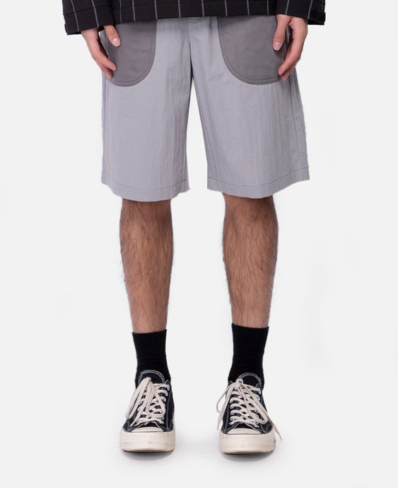Iso Drawstring Shorts (Grey)