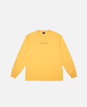 Mindful Self Compassion L/S T-Shirt (Yellow)
