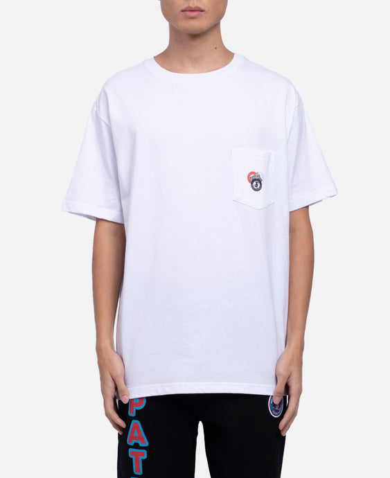 Made For Play Pocket T-Shirt (White)