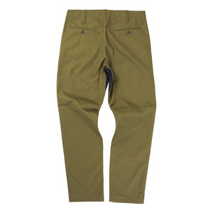 CHINO PANTS/CHECK (KHAKI)