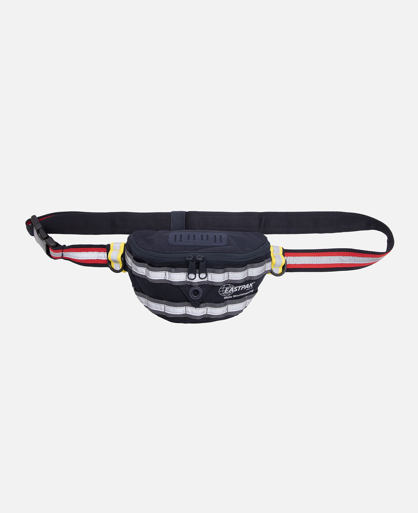 Reflective Taped Waist Bag (Navy)