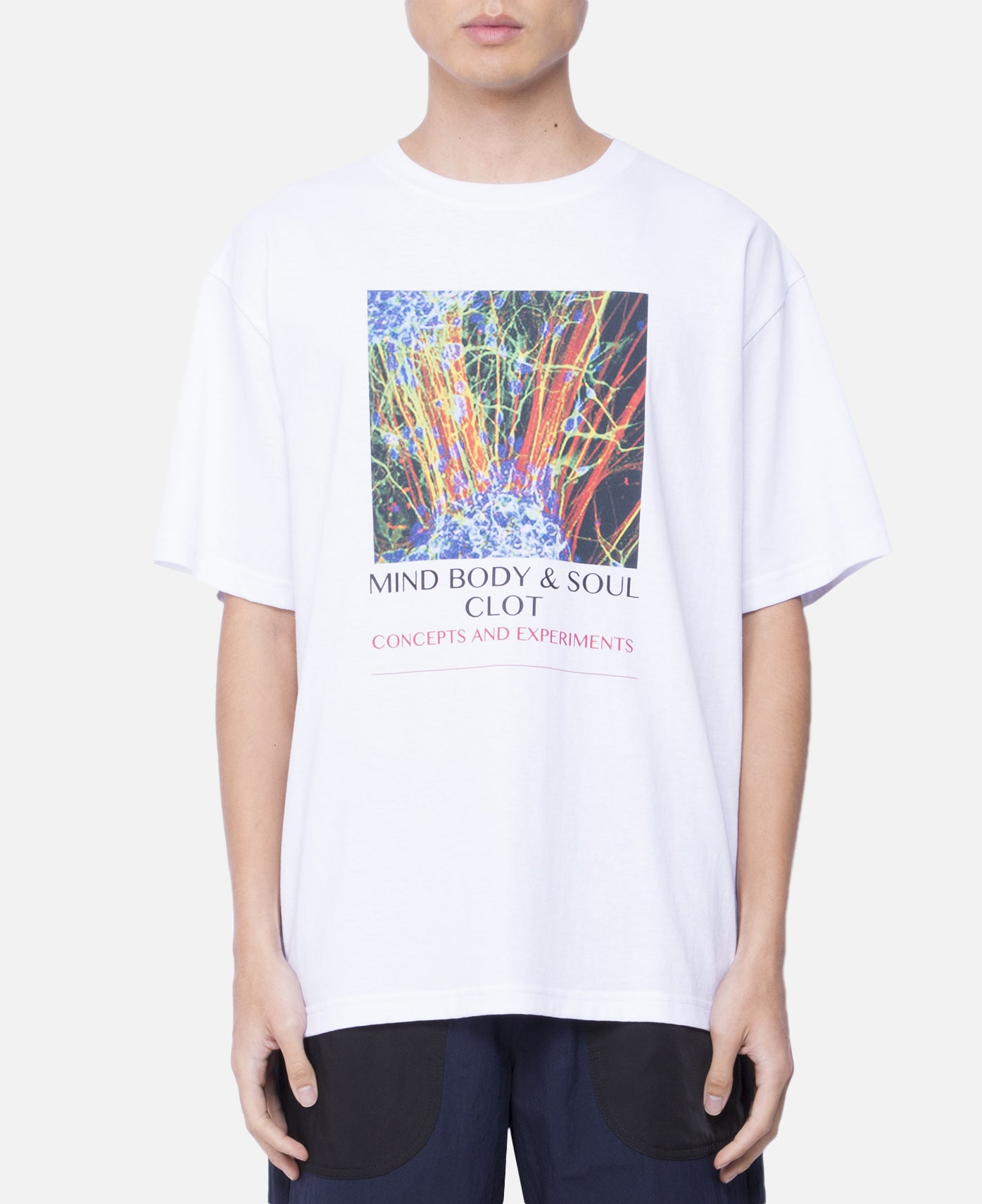 Mind Body & Soul T-Shirt (White)