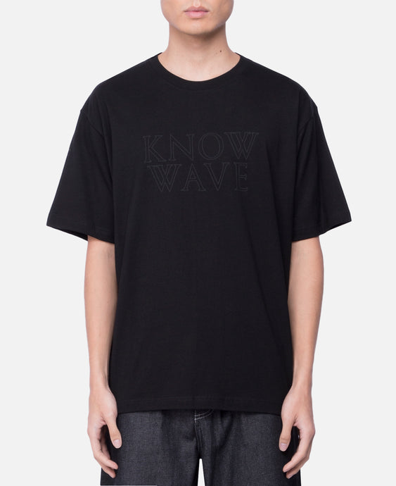 Outline Stack Logo T-Shirt (Black)