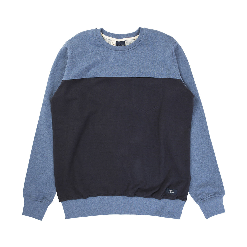 SWEAT 1 POCHE (BLUE)