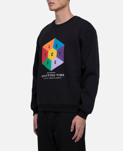 Hexagon Logo Crewneck Sweat