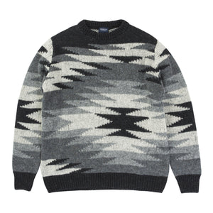 MONSIEUR LACENAIRE x WHITE MOUNTAINEERING NATIVE OVERSIZED JUMPER
