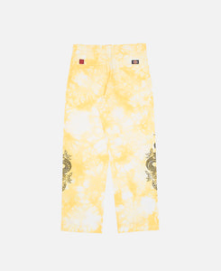 Dragon Tie Dye Chino (Yellow)