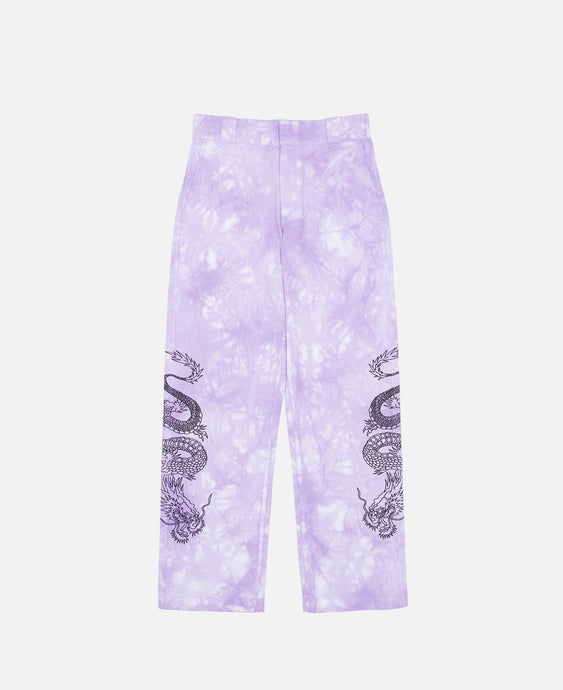 Dragon Tie Dye Chino (Purple)