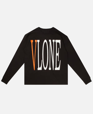 Staple LS Inside V (Black/Orange) US