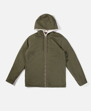 Sherpa Lined Hooded Shirt