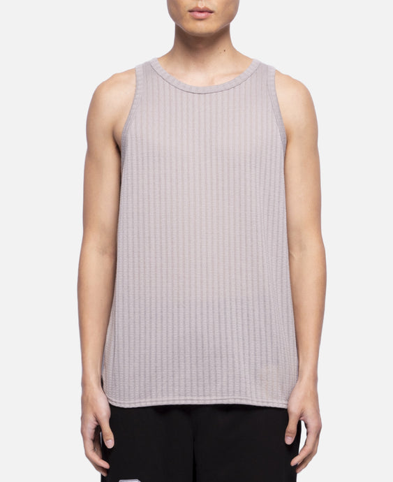 C Through Stripe Tank Top (Grey)