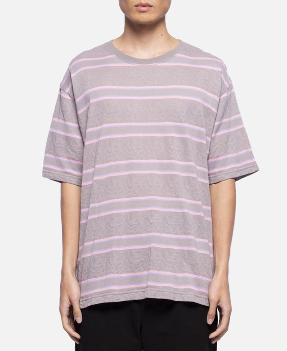 Dragon Border Oversized T-Shit (Grey)