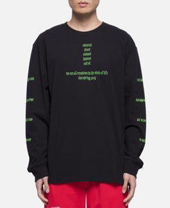 Circle Of Life L/S T-Shirt (Black)