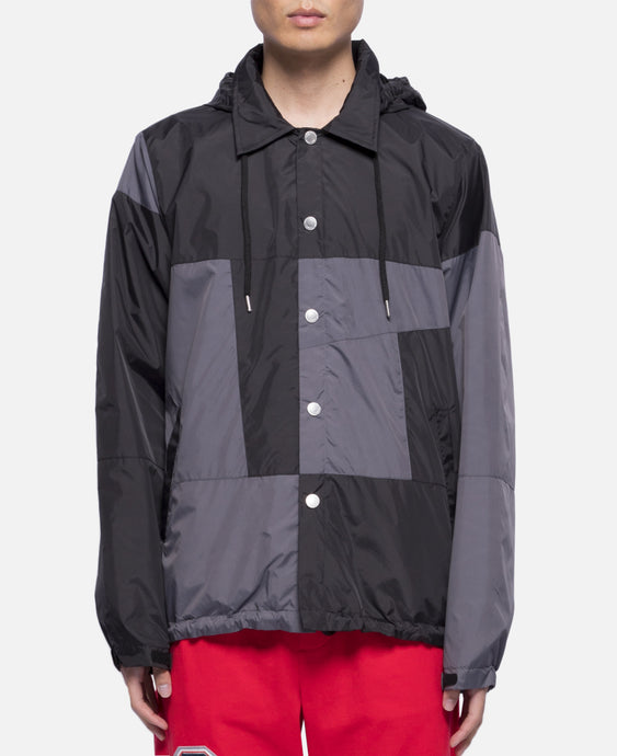 Colorblock Jacket (Black)