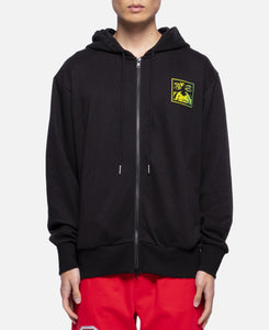 Light Zip Up Hoodie (Black)