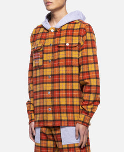 Button Up Hoodie (Yellow)