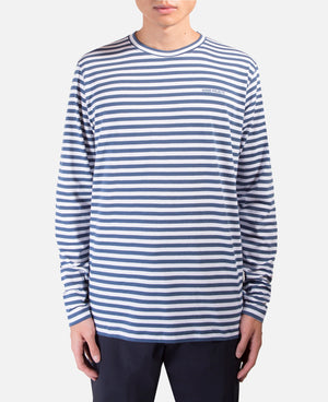 James Logo Stripe T-Shirt
