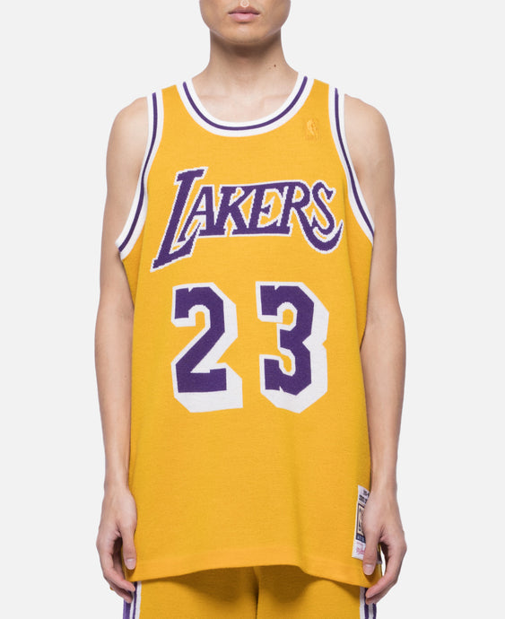 Lakers 96-97 Ceballos Knit Jersey