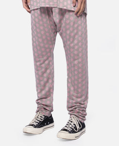 C Dot Pants W/Clot Elastic Tape (Pink)