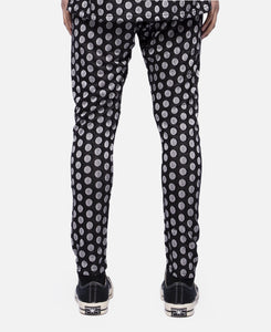 C Dot Pants W/Clot Elastic Tape (Black)