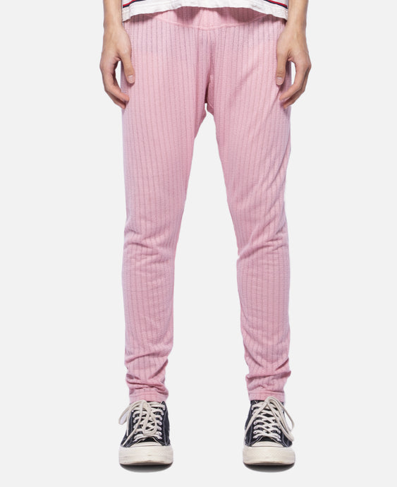 C Through Pants W/Clot Elastic Tape (Pink)
