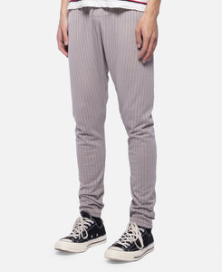 C Through Pants W/Clot Elastic Tape (Grey)