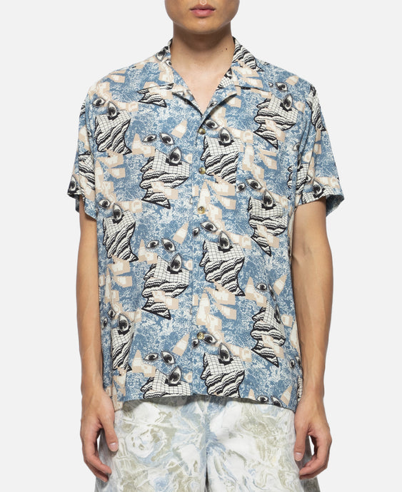 Hawaiian Shirt (Blue)