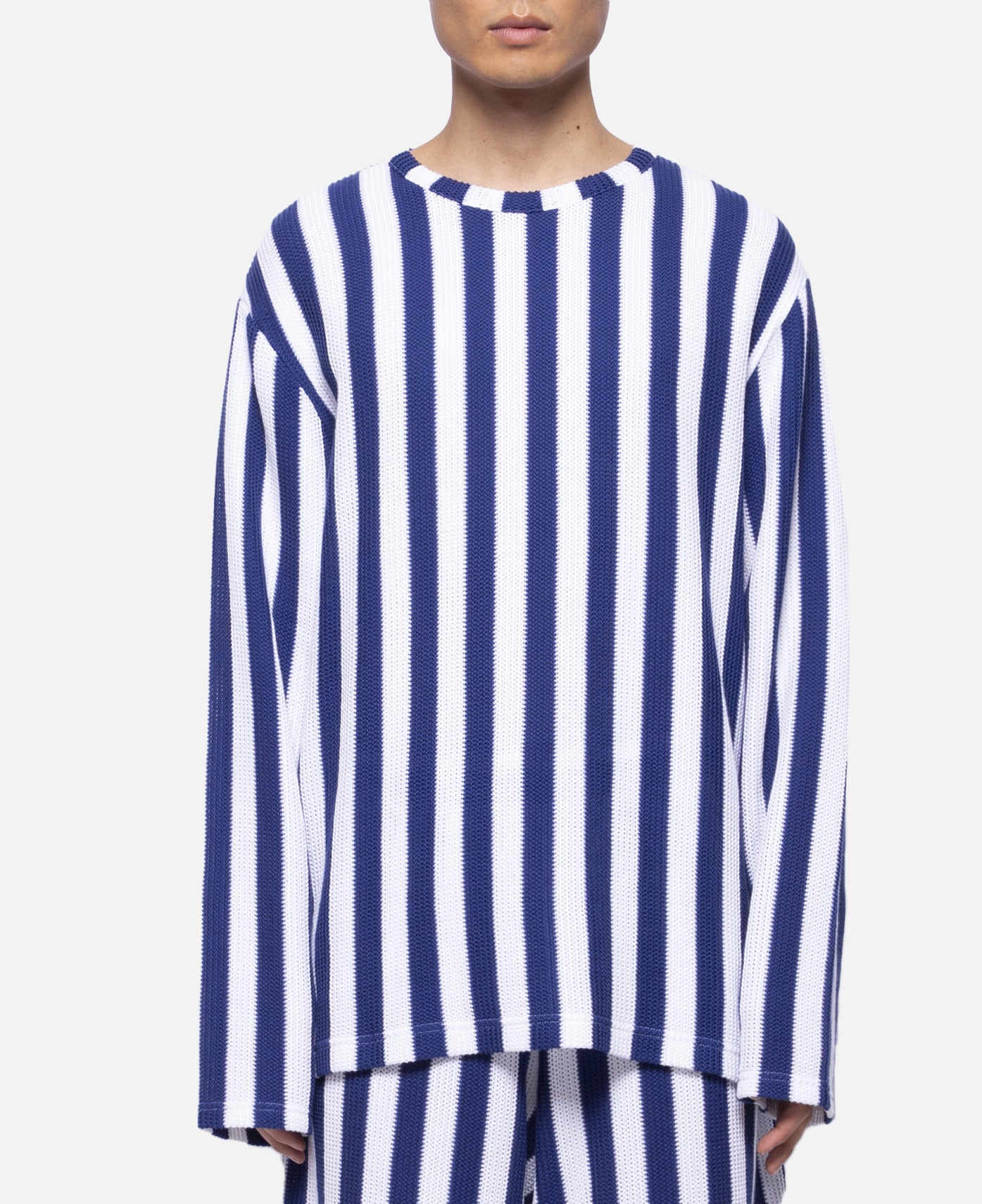 Russell Stripe Sweater (Blue)
