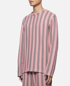 Russell Stripe Sweater (Pink)