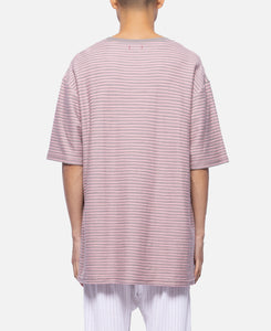Drunken Border T-Shirt (Pink)