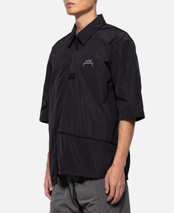 Diagonal Piping Polo S/S Jacket