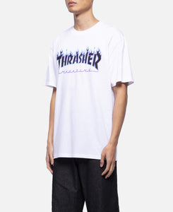 Purple Flame S/S T-Shirt (White)