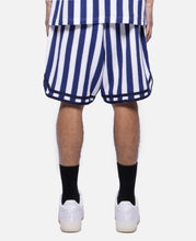 Russell Stripe Basketball Shorts (Blue)