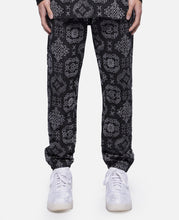 CLOT Pattern Sweat Pants (Black)