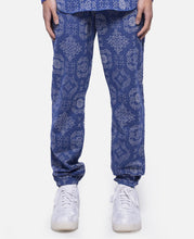 CLOT Pattern Sweat Pants (Blue)