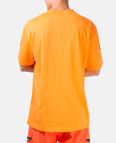 SMILEY FACE S/S TEE (ORANGE)